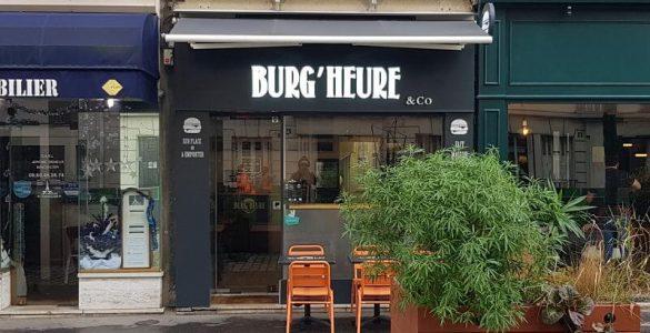 La façade du restaurant le Burg'Heure à #Paris15