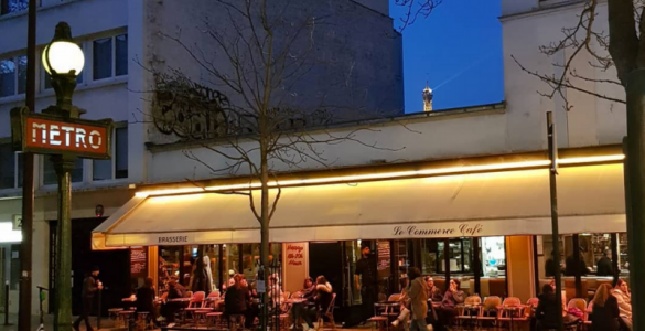 La carte de nos explorations à Paris 15 en février 2019