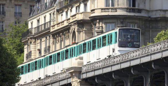 Le métro aérien de Paris sur la ligne 6 pour illustrer l'article sur les stations de métro désertes du 15ème arrondissement de Paris