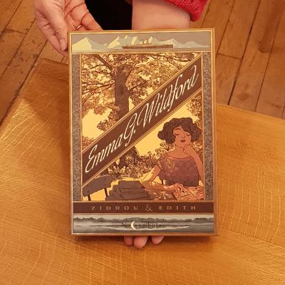 La BD Emma G.Wildford à la librairie l'Instant dans le 15ème arrondissement de Paris