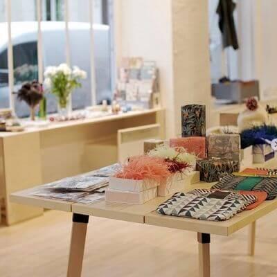Le concept store Le Bazar Français dans le 6e arrondissement de Paris