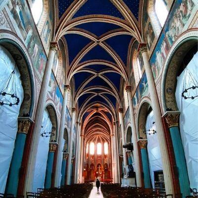 L'intérieur de l'église Saint-Germain, Paris 6