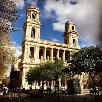 L'église Saint-Sulpice, Paris 6
