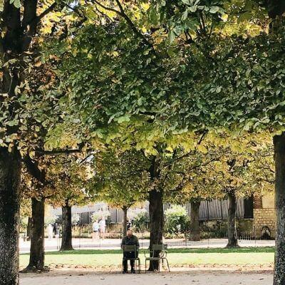 Le jardin du Luxembourg, Paris 6