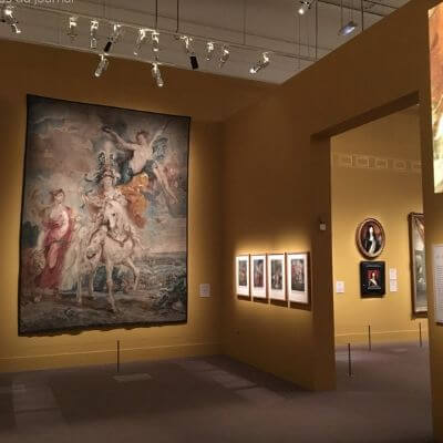 Une galerie du musée du Luxembourg Paris 6