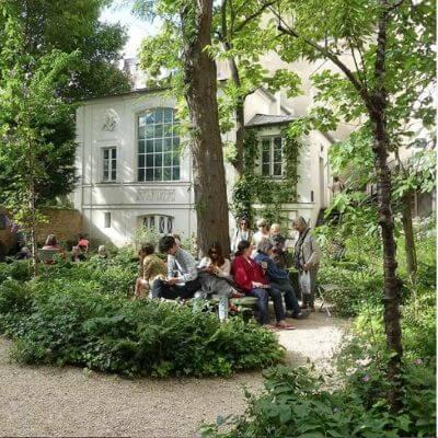 Le très joli jardin du musée Eugène Delacroix Paris 6