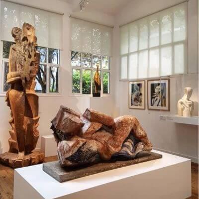 L'intérieur du musée Zadkin Paris 6