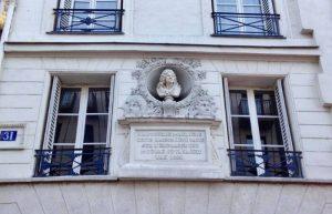 La maison de Molière à Paris