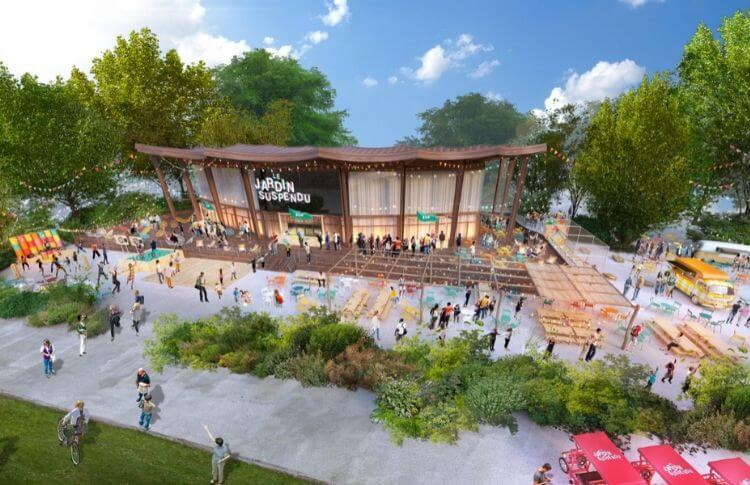 Le nouveau lieu du Jardin Suspendu dans le Parc Floral (Paris 12e)
