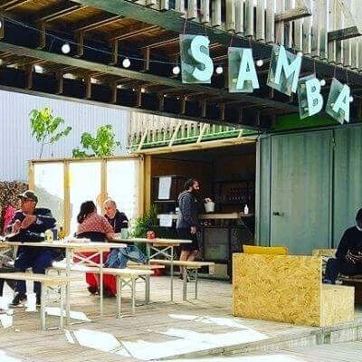 Le bar éphémère Samba à Nanterre