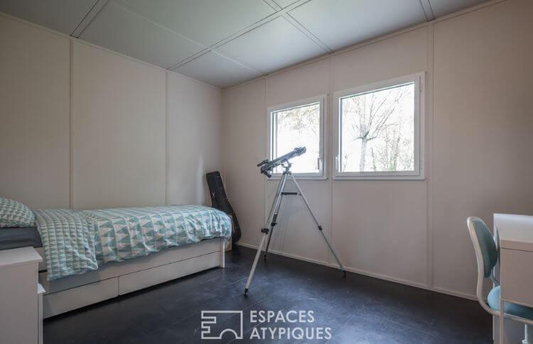Meudon maison Jean Trouvé chambre