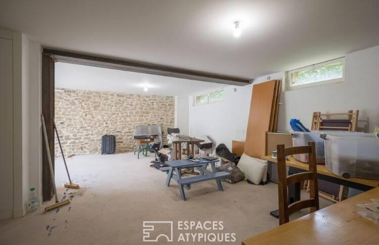 Meudon maison Jean Trouvé sous-sol