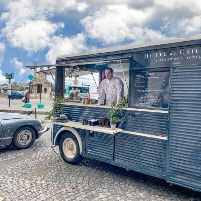 Le Ice-Cream Truck Le Crillon, glacier éphémère à Paris 1er